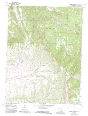 Sawmill Mountain USGS topographic map 40107a6