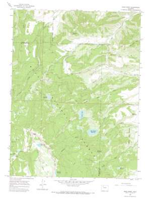 Sand Point topo map