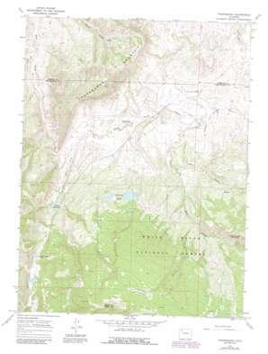 Thornburgh topo map