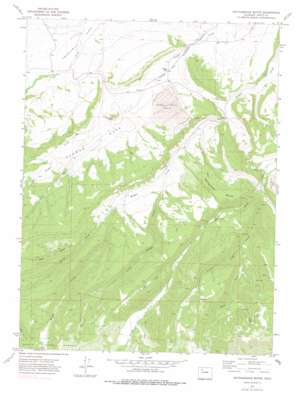 Rattlesnake Butte USGS topographic map 40107c1