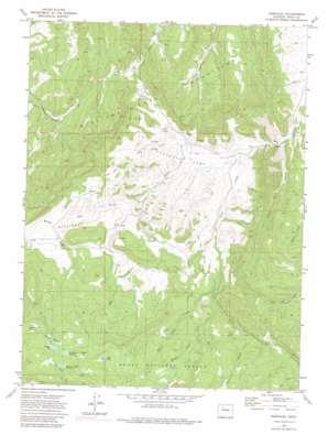 Dunckley topo map