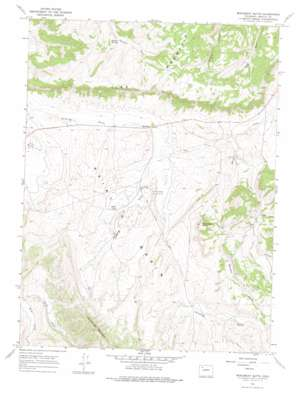 Monument Butte USGS topographic map 40107c6