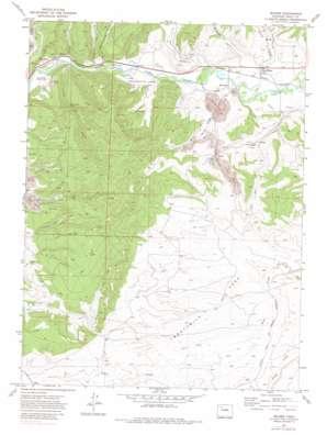 Milner topo map