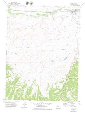 Hayden topo map