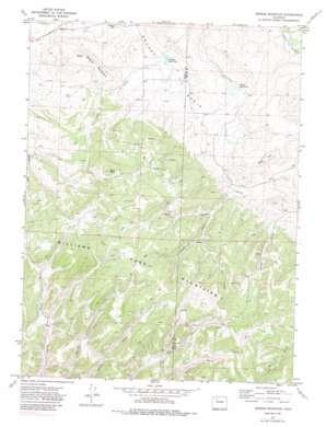 Breeze Mountain USGS topographic map 40107d4