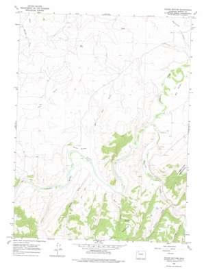 Round Bottom topo map