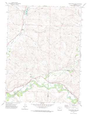 Ralph White Lake topo map