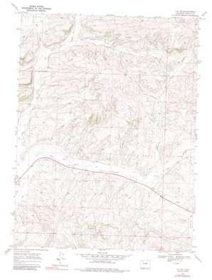 Lay Se topo map