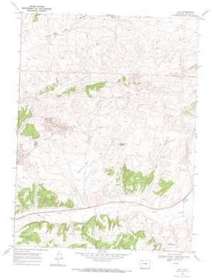 Lay USGS topographic map 40107e8