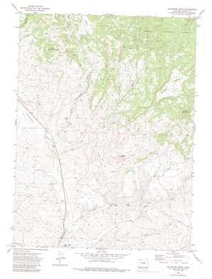 Mcinturf Mesa topo map