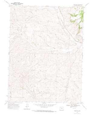 Craig Ne topo map
