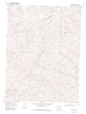 Craig NW USGS topographic map 40107f6