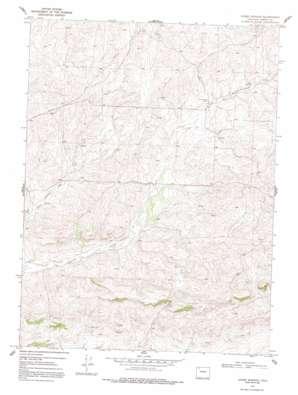 Adobe Springs topo map