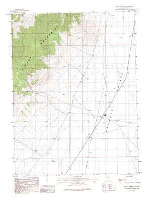 Dolly Varden topo map