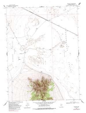 Ventosa topo map
