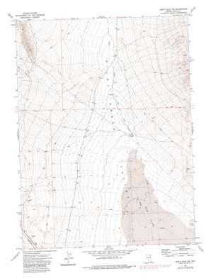Leppy Peak Nw topo map