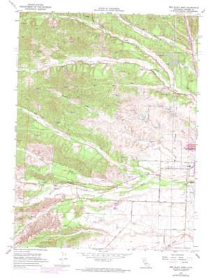 Red Bluff West topo map