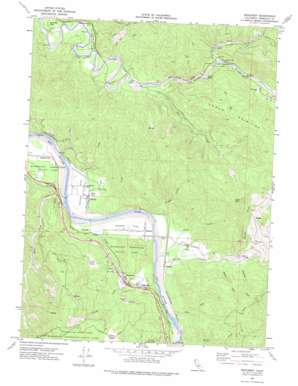 Redcrest topo map