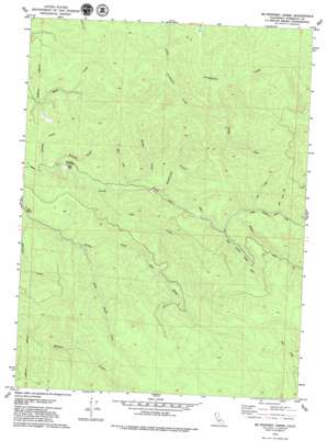Mcwhinney Creek topo map