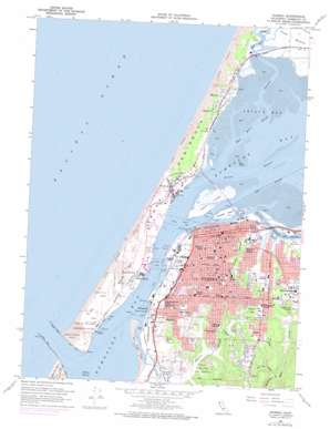 Eureka topo map