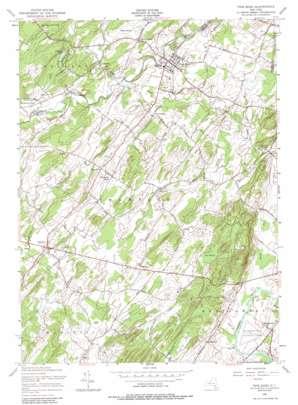 Pine Bush topo map