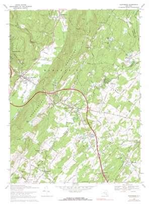 Wurtsboro topo map