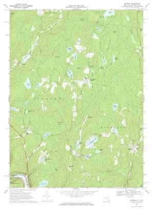 Eldred topo map