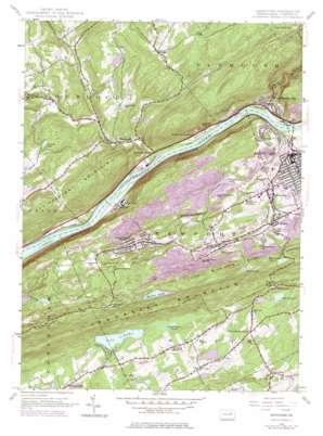 Nanticoke USGS topographic map 41076b1