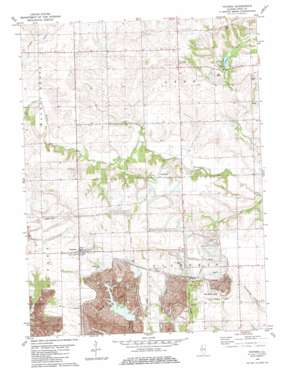 Davenport USGS topographic map 41090a1