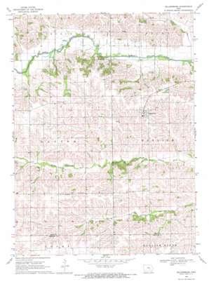 Millersburg topo map