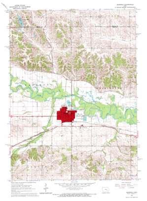 Marengo topo map