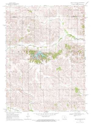 Belle Plaine Sw topo map