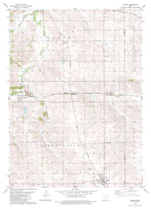 Gilman topo map