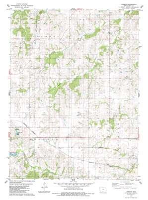 Jamison topo map