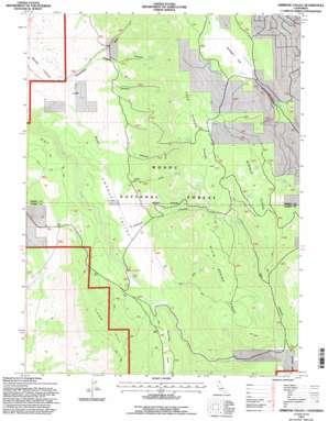 Ambrose Valley topo map