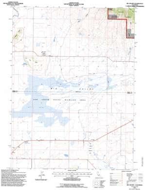 Big Swamp topo map