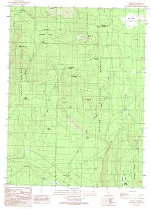 Bartle topo map
