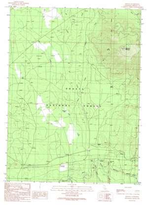 Kinyon topo map