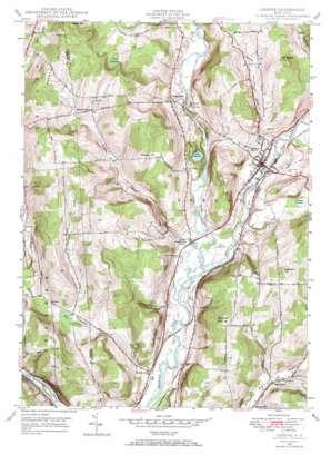 Greene topo map