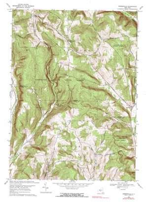Speedsville topo map