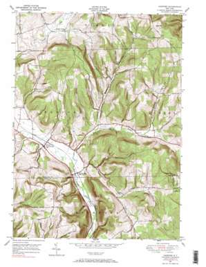 Harford topo map