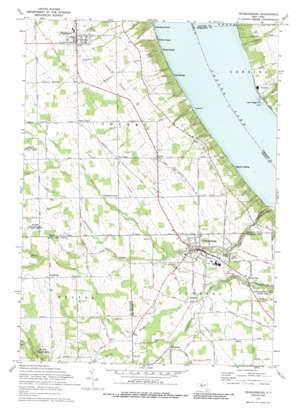 Trumansburg topo map