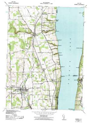 Dundee topo map
