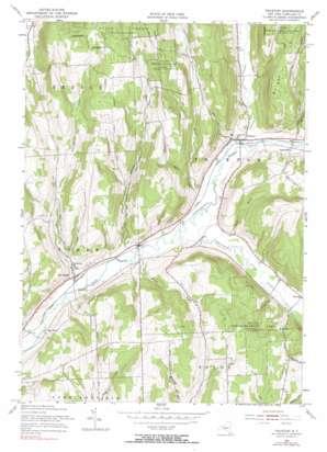 Truxton topo map