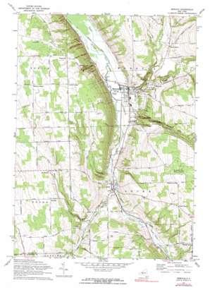 Moravia topo map
