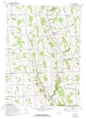 Genoa topo map