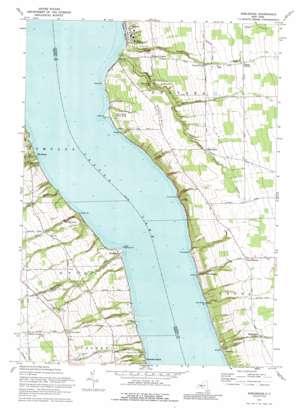 Sheldrake topo map