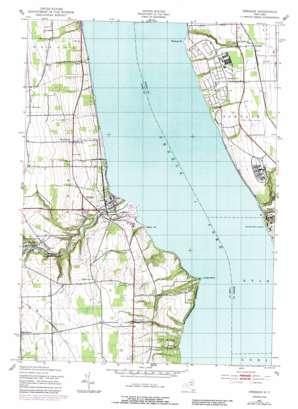 Dresden topo map