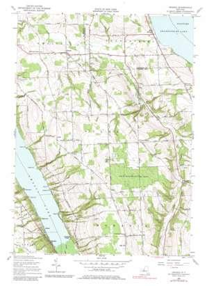 Owasco USGS topographic map 42076g4