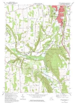 South Onondaga topo map